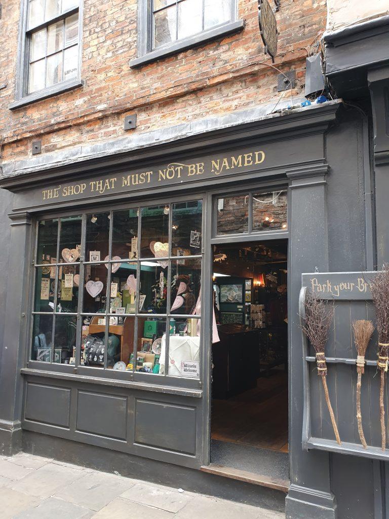 The Shambles Harry Potter shop