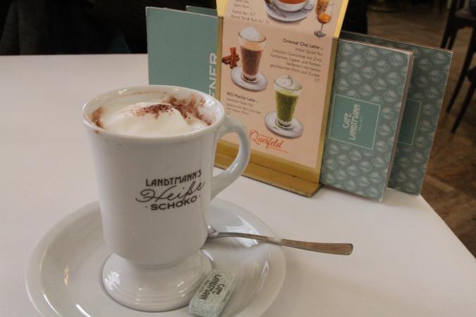 coffee cup and menu