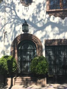 great doorways in Condesa houses