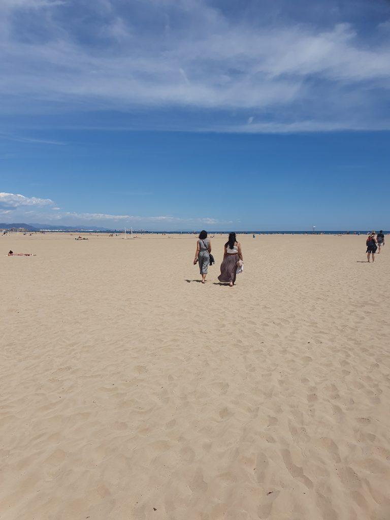 Playa de la Malvarossa beach